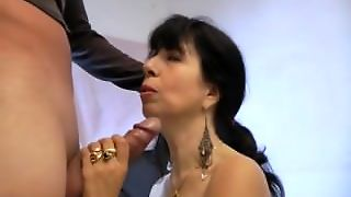 A Brunette Amateur Mature Big Dick