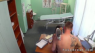 Gorgeous Nurse Bangs Doctor In Fake Hospital