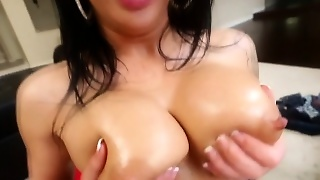 Big Boobs, Blowjob, Hd, Brunette, Pov, Handjob, Titjob