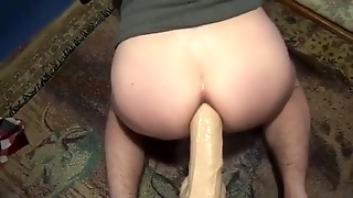 Butt Fuck From Above Part 2 W/ Gaping