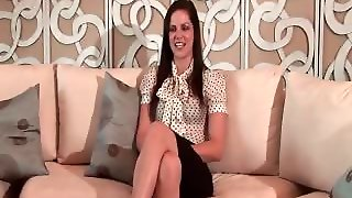 Hot Sexy Nasty Brunette Talking About Part1