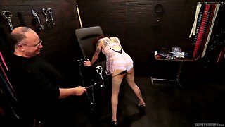 Fantastic Shemale With Bondage Fetish Getting His Ass Spanked Hardcore