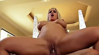 Ryan Conner The Bombshell Milf Riding A Dick And Takes Titty Fucking