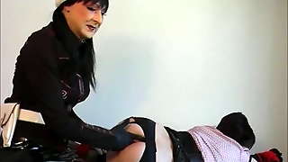 Tranny Bondaged By Russian Spies