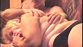 Daby Sucking My Cock In Her Black Panties
