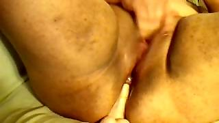 Bbw Double Penetration With Dildos