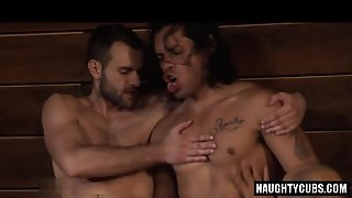 Latin Wolf Ass To Mouth With Cumshot