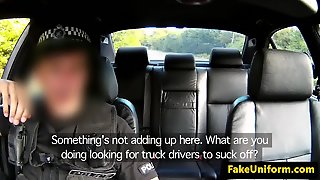 British Cop Sticks His Cock In Girls Pussy