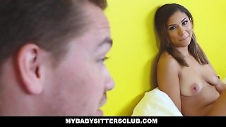 Mybabysittersclub - Cute Young Sitter Wants To Fuck
