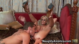 Olivia & Chris Johnson In My Friends Hot Mom