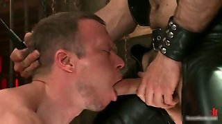 Strung And Hung And Whipped Gay Bdsm 3