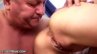 Tits On Pussy, Super Blowjob, Blonde Rimming, Licking The Ass, Blonde European, Pussy Without Panties, Old Gives Blowjob, Cum Shot On Tits