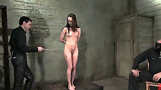 A Great Bondage Video With A Kinky Brunette
