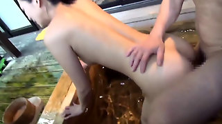 A Very Cute Japanese Wife Adultery Onsen Trip