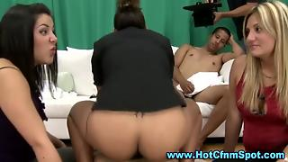 Partying Real Cfnm Femdom Amateur