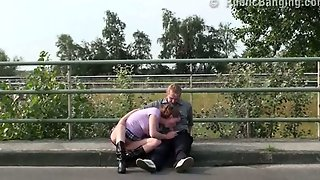 Blowjob In Public By A Highway