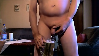 Mature Gay Pissing At Home