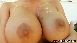 Analized Big Titted Skank