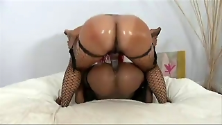 Black  Fuck Each Other With Strap-On