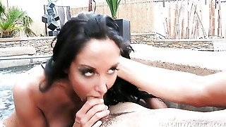 Tyler Nixon Fucks Asian Ava Addams With Big Breasts And Shaved Beaver As Hard As Possible In Hardcore Sex Action