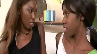 Ebony Mom Seduces Young