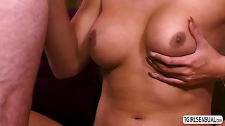 Shemale Slut Chanel Loves Giving Hunk A Hard Anal Pounding