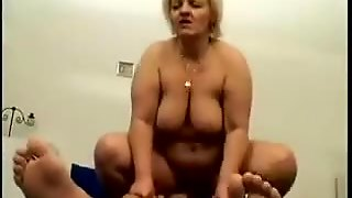 Fat Russian Granny With Blonde Hair