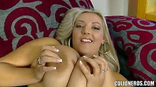 Cristal Swift Is A Hot Blonde Woman With Massive Natural