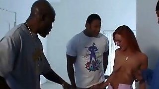 Donna Marie - British Pornstar Hardcore Interracial Gangbang
