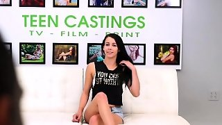 Brunette, Small Tits, Casting, Hd, Doggystyle, Fetish, Hardcore, Teen