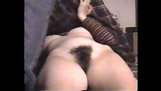 Great Boobs And Hairy Pussy