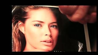 Doutzen Kroes Cum Tribute To One Of The Hottest Girls Ever