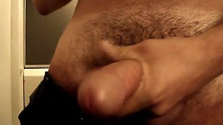 Steamy  Jerking Off Standing