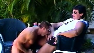 Michael Vista Gives Some Great Head To His Friend's Fat Cock