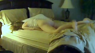 Wife Caught Humping On Hidden Cam