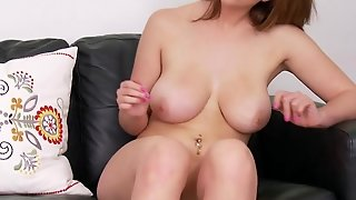 Busty Brooke Wylde Masturbating