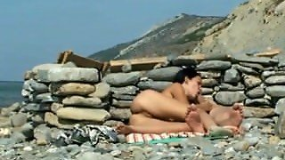 Beach Blow Job  - Yhookup_Com Beach Blow Job