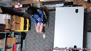 Riding Teen Shoplifter