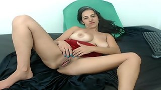 Woman Plays With Herself. Carolin From Dates25.com