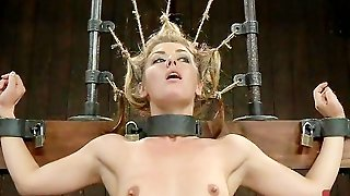 Spanking Fuck, Puppet, Bdsm Kink, Bondage Suspension, Blonde Bound, Fuck Bound, Leather Orgasm, Fucktoys, Bound And Vibrator, Vibrator Orgasm Bdsm