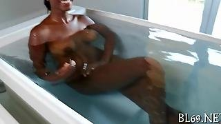Multiples Of Orgasms For Ebony