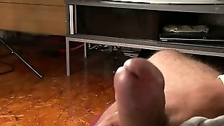 Str8 Latino Jack Is Back And He Lets Me Spunk Him Off For The First Time.