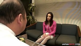 Gang Banged Mashiro Nozomi In White Stockings Has Her Cum Covered
