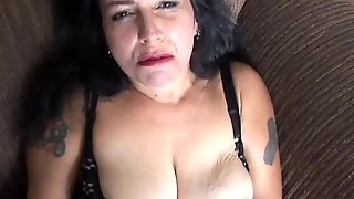 Naughty Old Spunker Loves To Fuck Her Soaking Wet Pussy