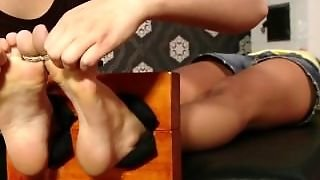 Little Caprice Tickled