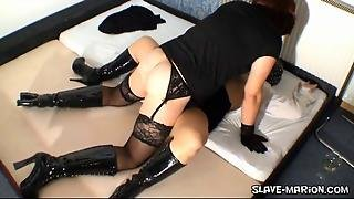 Slave Wife Creampied By Amateur Tranny