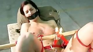 Bondage, Paddles, Fetish, Electricity, Spanking, Bound, Whipped, Wax