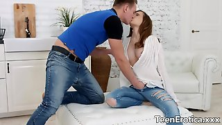 Brown Haired Honey Stasya Stoune Is Fucked Intensely By Her Boyfriend