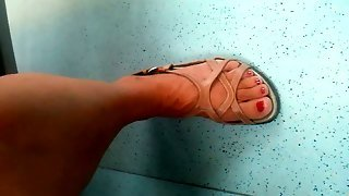 Hidden Cam Mature Feet