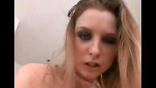 Horny russian housewife taking black cock